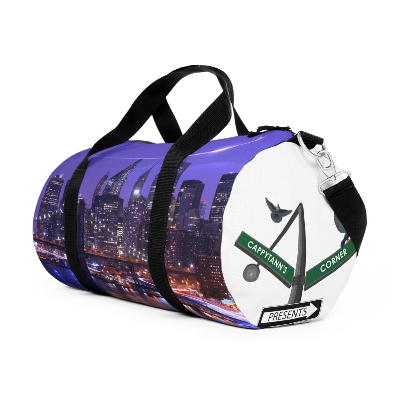 Purple City - NY Accessories Bag by Cappytann's Artist Shop