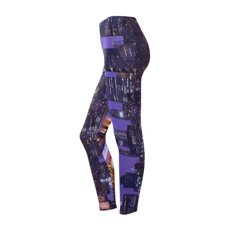 Purple City - NY Women's Bottoms by Cappytann's Artist Shop