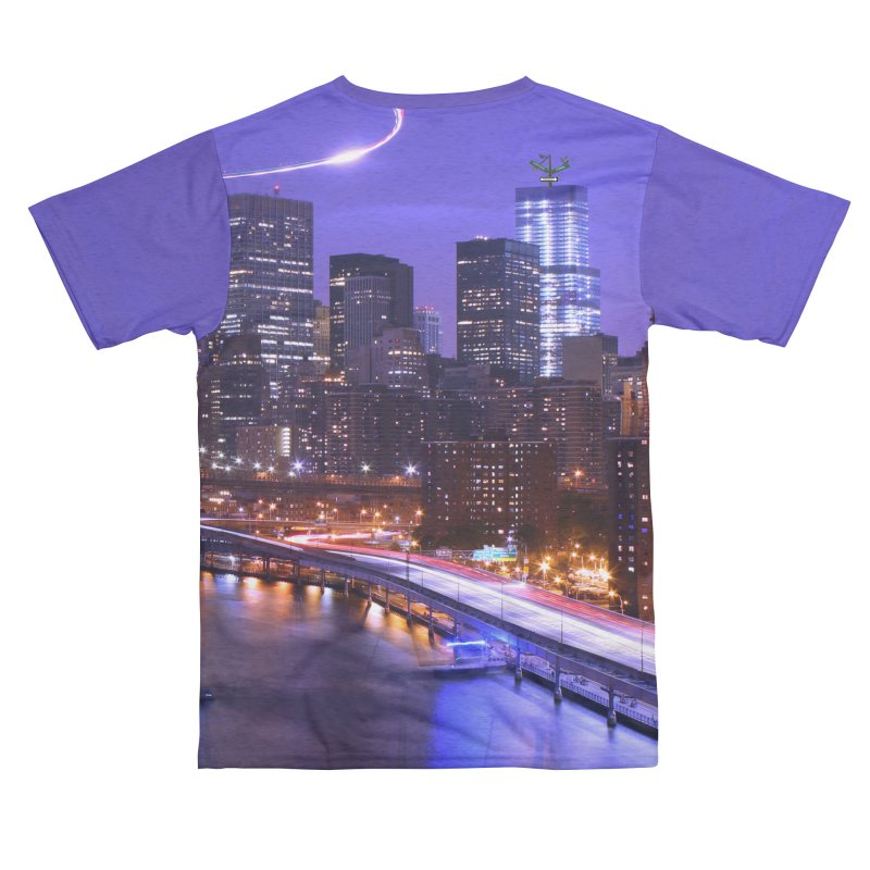 Purple City - NY Women's Cut & Sew by Cappytann's Artist Shop