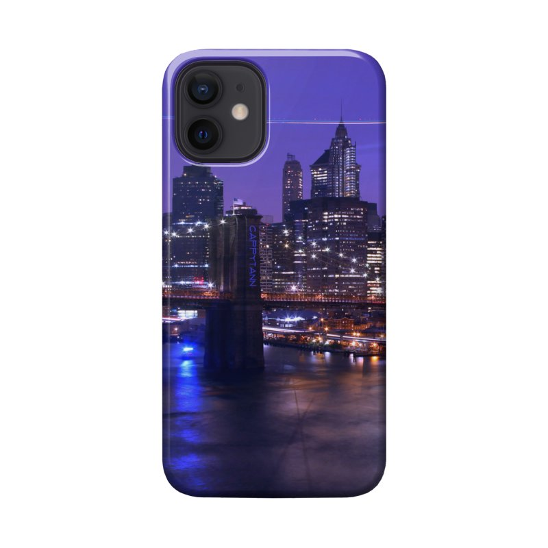 Purple City - NY Accessories Phone Case by Cappytann's Artist Shop