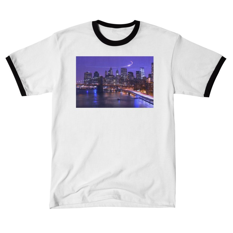 Purple City - NY Women's T-Shirt by Cappytann's Artist Shop