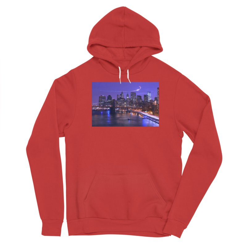 Purple City - NY Women's Pullover Hoody by Cappytann's Artist Shop