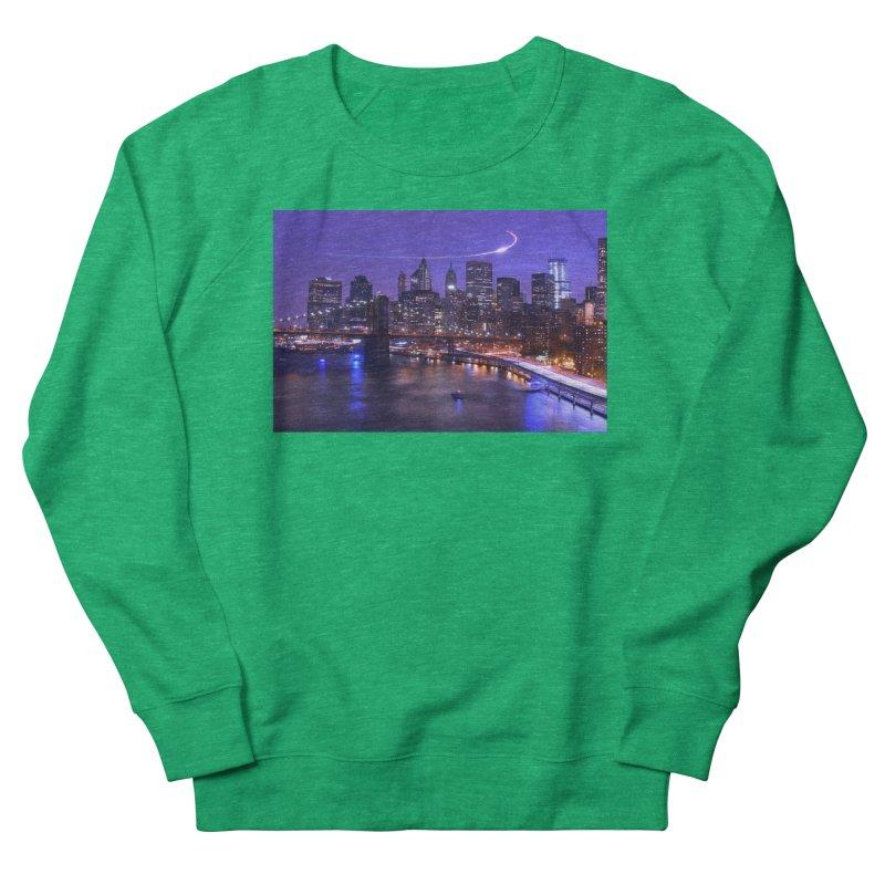Purple City - NY Women's Sweatshirt by Cappytann's Artist Shop