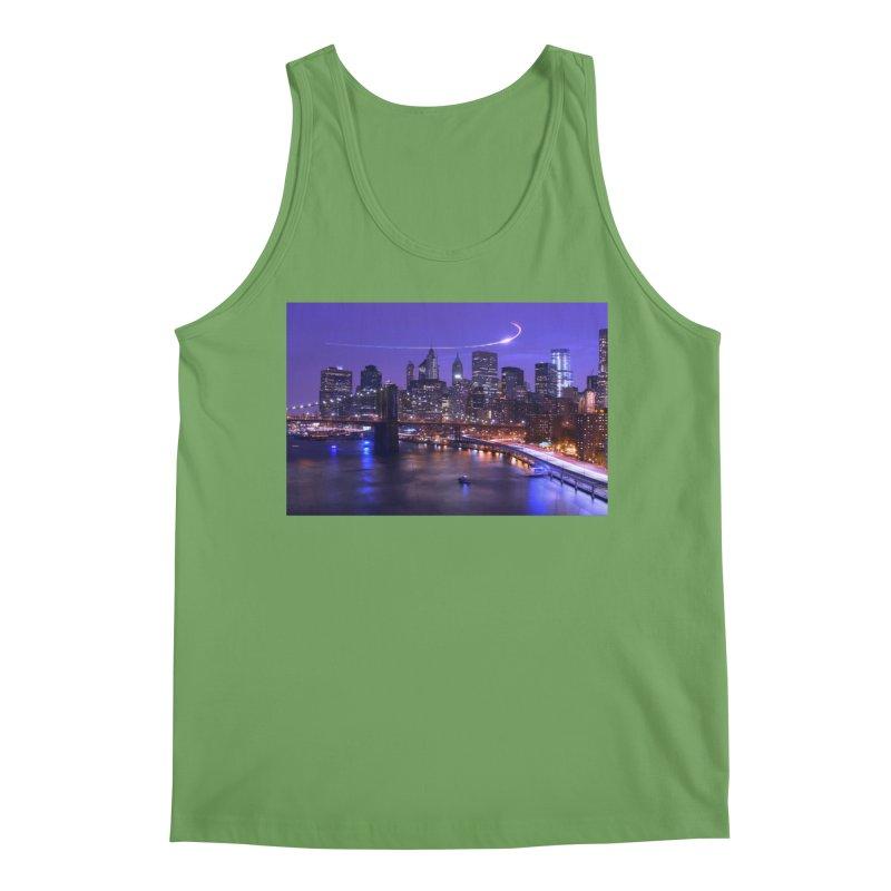 Purple City - NY Men's Tank by Cappytann's Artist Shop