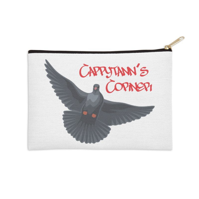 Free Bird CC Red Accessories Zip Pouch by Cappytann's Artist Shop