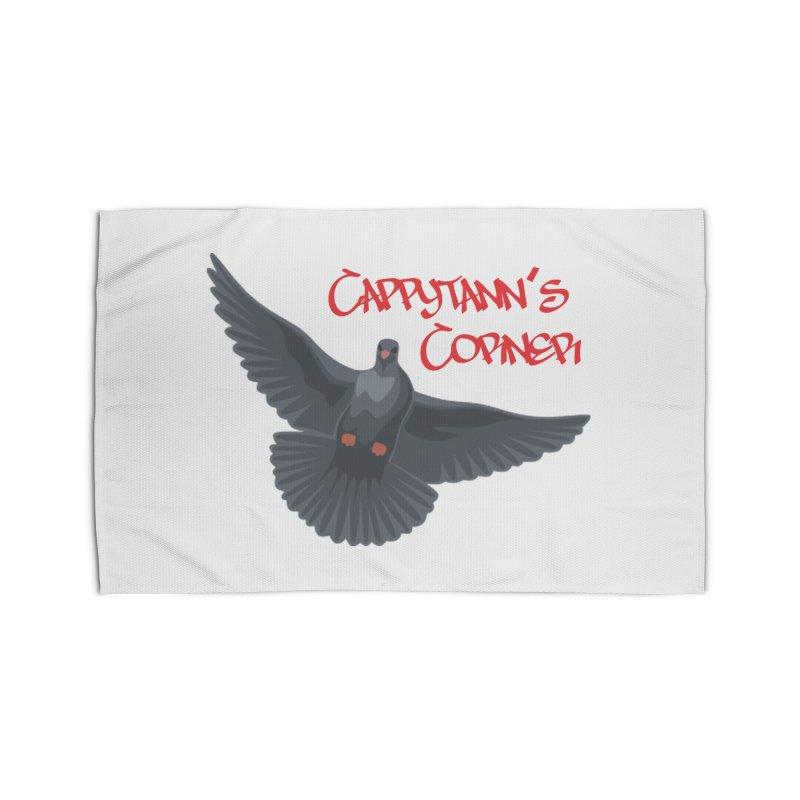 Free Bird CC Red Home Rug by Cappytann's Artist Shop