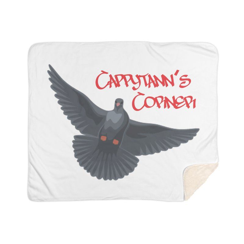 Free Bird CC Red Home Blanket by Cappytann's Artist Shop