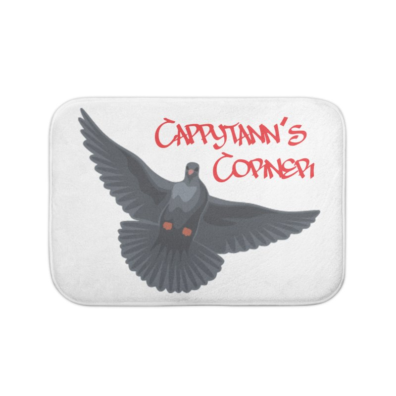 Free Bird CC Red Home Bath Mat by Cappytann's Artist Shop