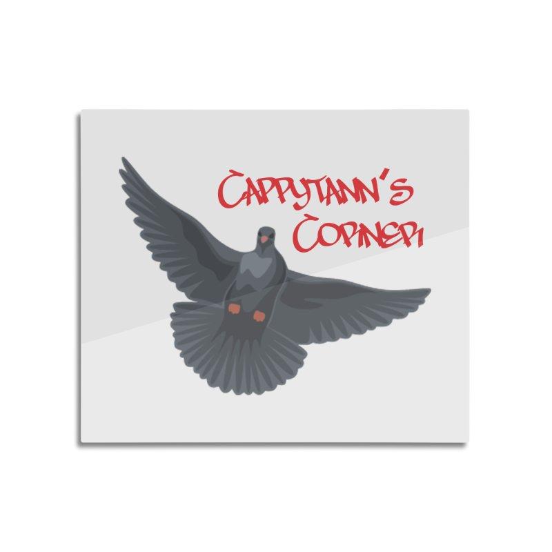 Free Bird CC Red Home Mounted Aluminum Print by Cappytann's Artist Shop
