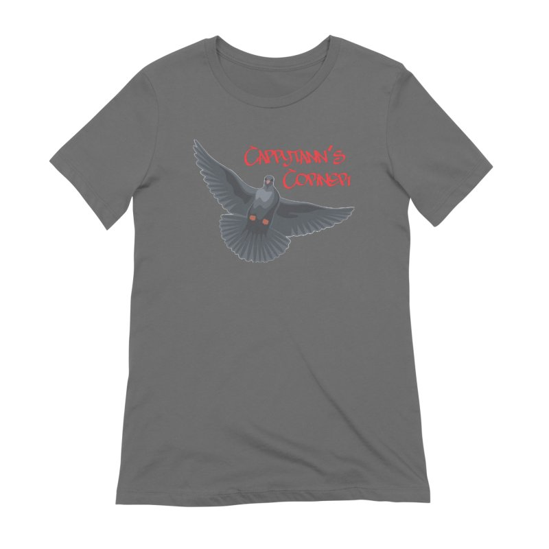 Free Bird CC Red Women's T-Shirt by Cappytann's Artist Shop