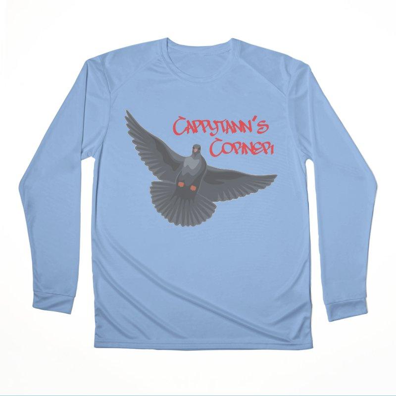 Free Bird CC Red Women's Longsleeve T-Shirt by Cappytann's Artist Shop
