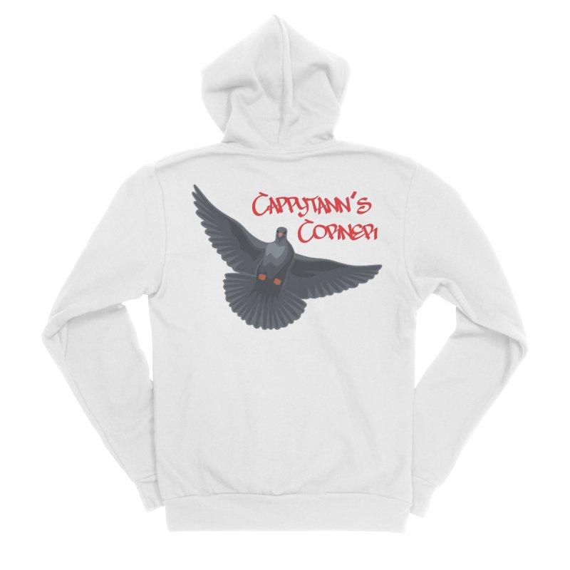 Free Bird CC Red Women's Zip-Up Hoody by Cappytann's Artist Shop