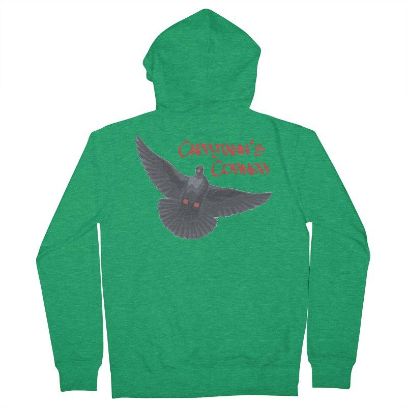 Free Bird CC Red Men's Zip-Up Hoody by Cappytann's Artist Shop