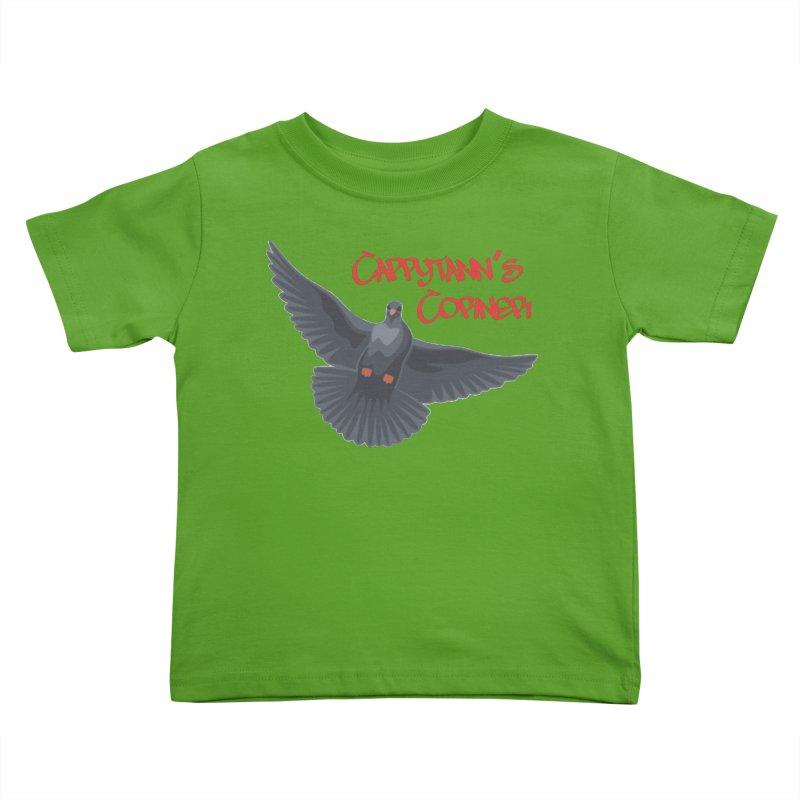 Free Bird CC Red Kids Toddler T-Shirt by Cappytann's Artist Shop