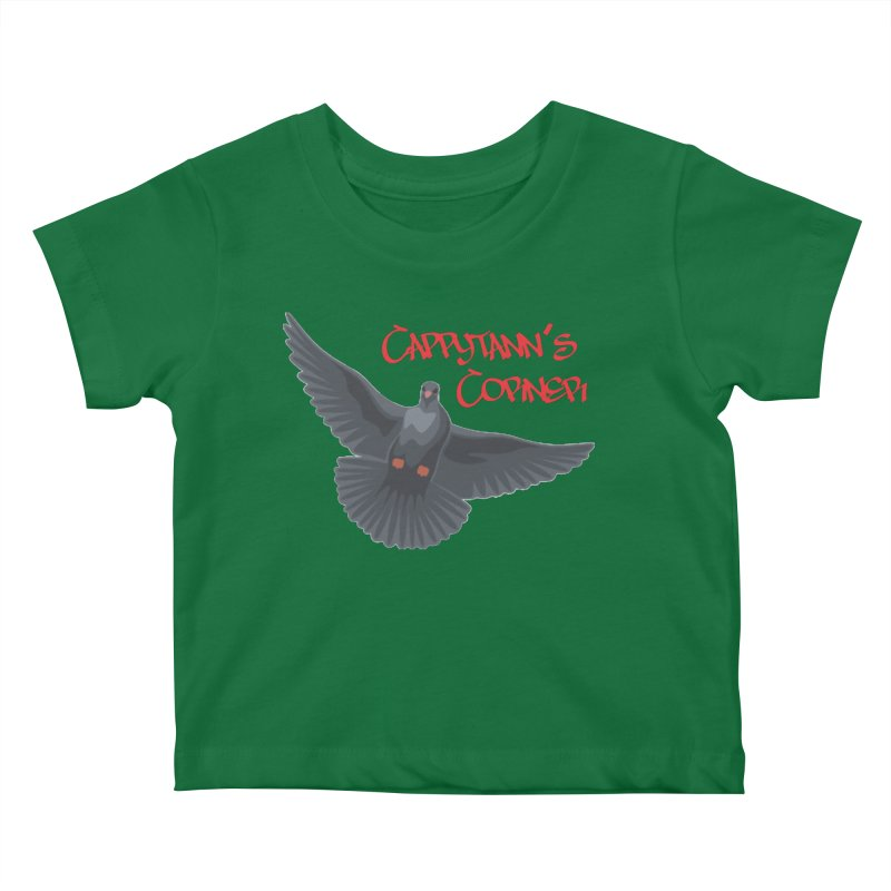 Free Bird CC Red Kids Baby T-Shirt by Cappytann's Artist Shop