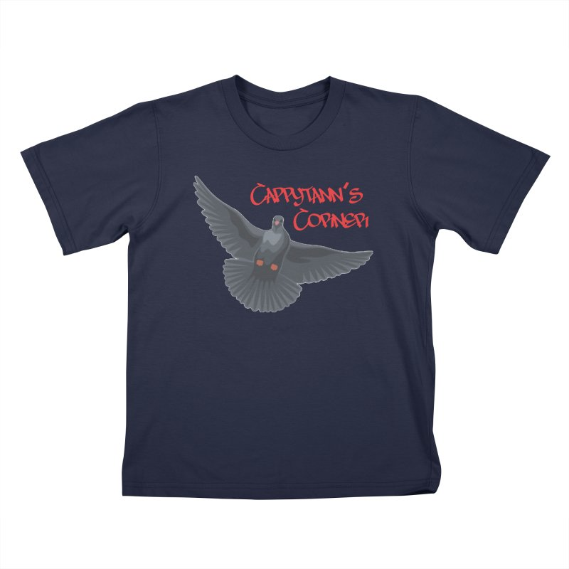 Free Bird CC Red Kids T-Shirt by Cappytann's Artist Shop
