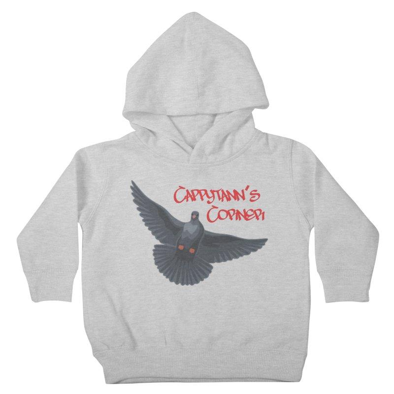 Free Bird CC Red Kids Toddler Pullover Hoody by Cappytann's Artist Shop