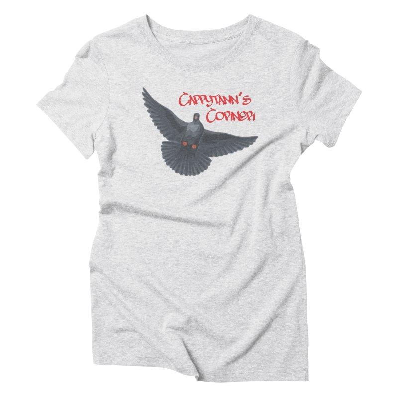 Free Bird CC Red Women's T-Shirt by Cappytann's Artist Shop