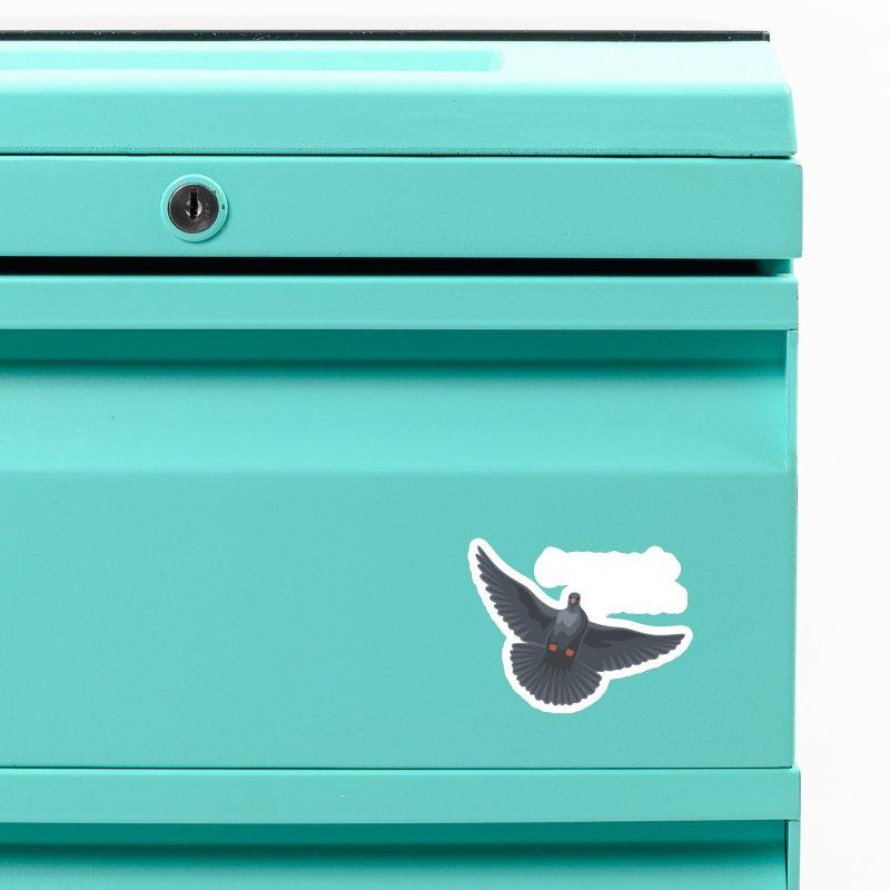 Free Bird White Accessories Magnet by Cappytann's Artist Shop