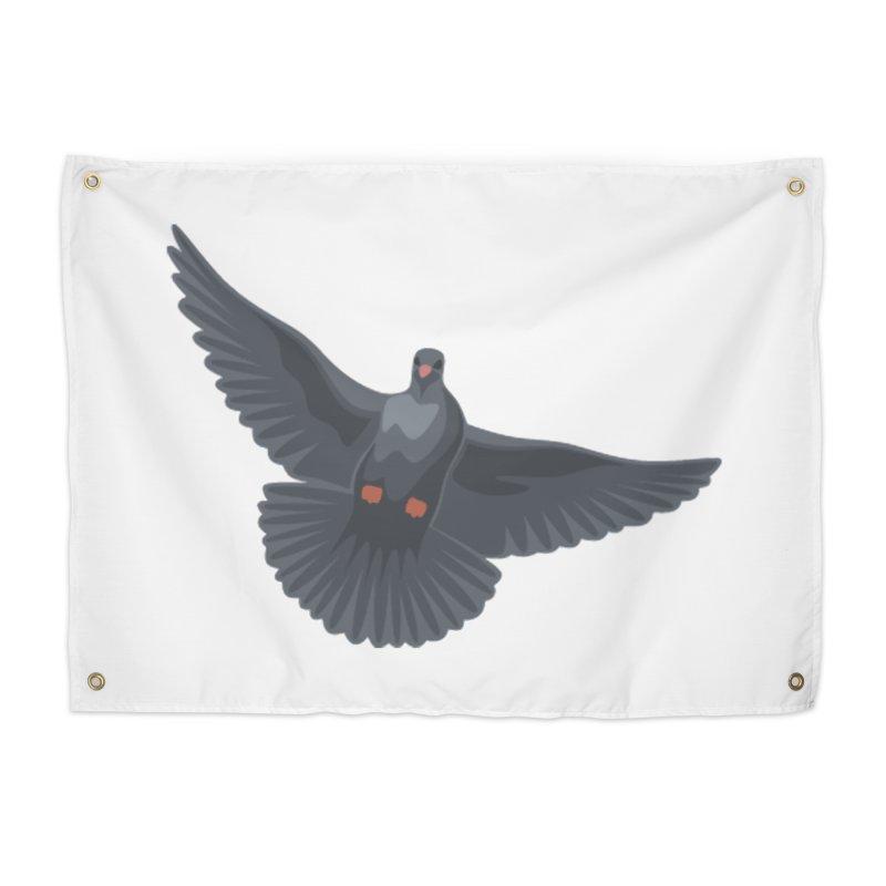 Free Bird White Home Tapestry by Cappytann's Artist Shop