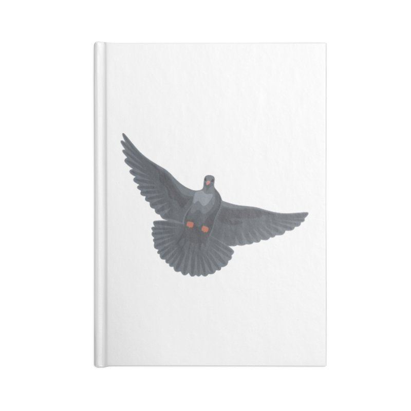 Free Bird White Accessories Notebook by Cappytann's Artist Shop