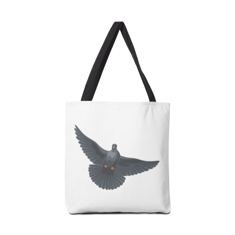 Free Bird White Accessories Bag by Cappytann's Artist Shop