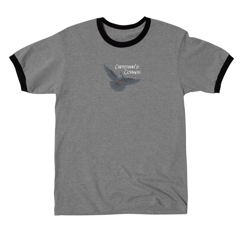 Free Bird White Men's T-Shirt by Cappytann's Artist Shop