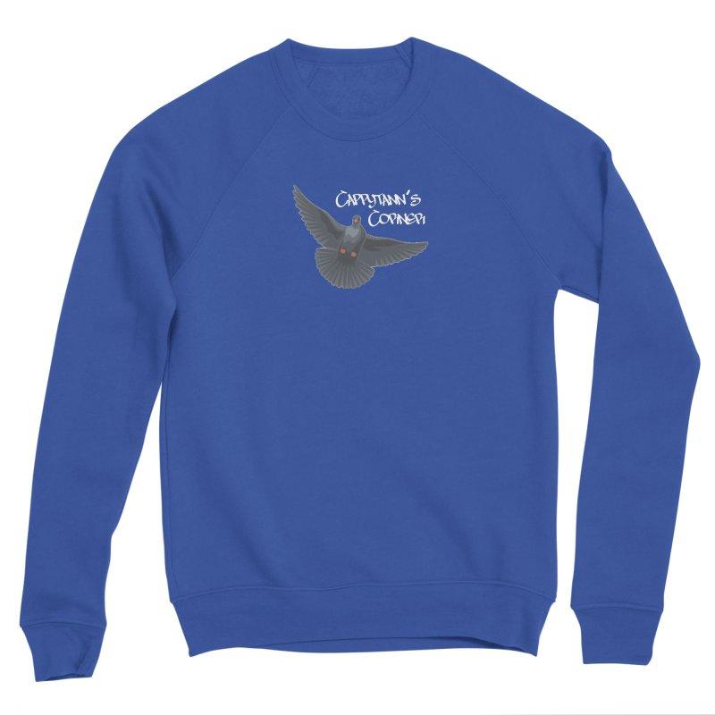 Free Bird White Men's Sweatshirt by Cappytann's Artist Shop