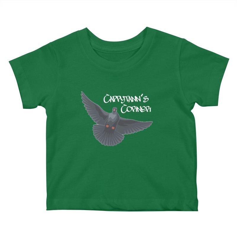 Free Bird White Kids Baby T-Shirt by Cappytann's Artist Shop