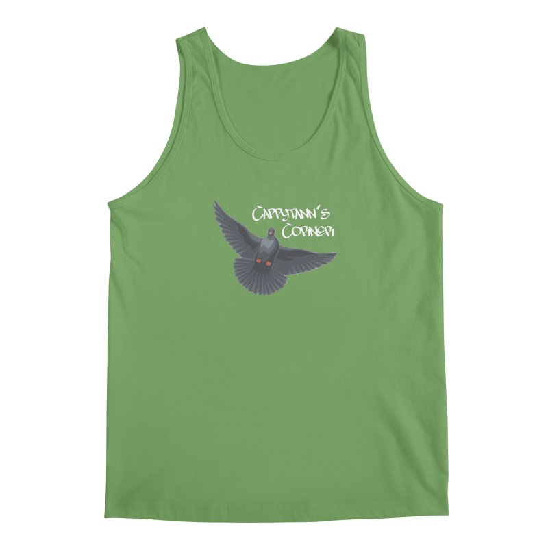 Free Bird White Men's Tank by Cappytann's Artist Shop