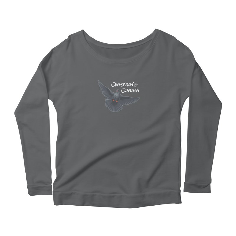 Free Bird White Women's Longsleeve T-Shirt by Cappytann's Artist Shop