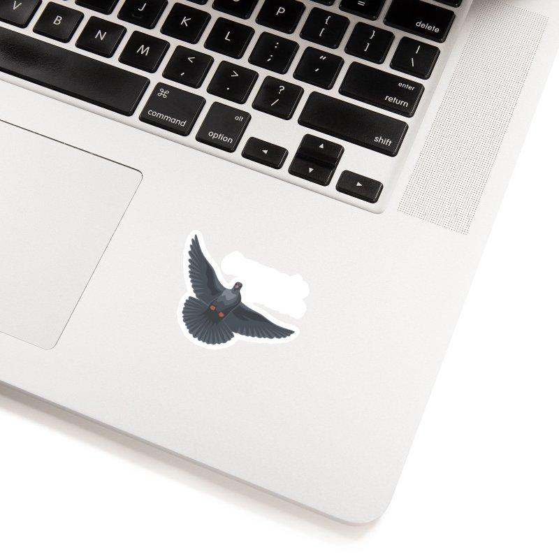 Free Bird White Accessories Sticker by Cappytann's Artist Shop