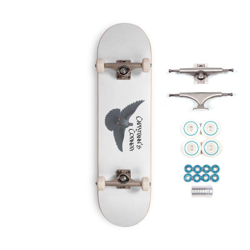 Free Bird Black Accessories Skateboard by Cappytann's Artist Shop