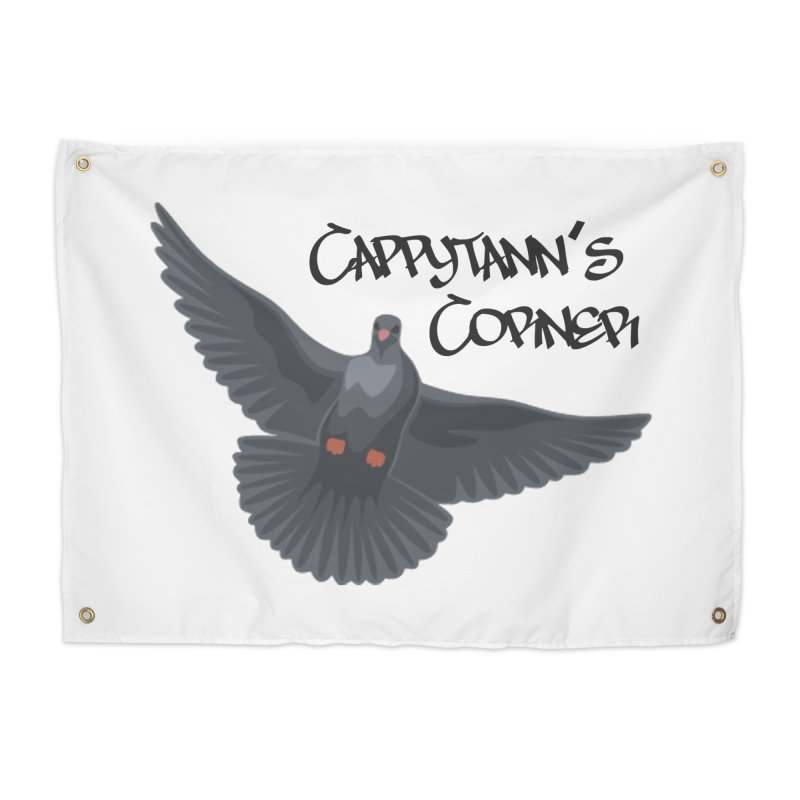 Free Bird Black Home Tapestry by Cappytann's Artist Shop
