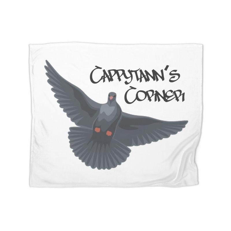 Free Bird Black Home Blanket by Cappytann's Artist Shop