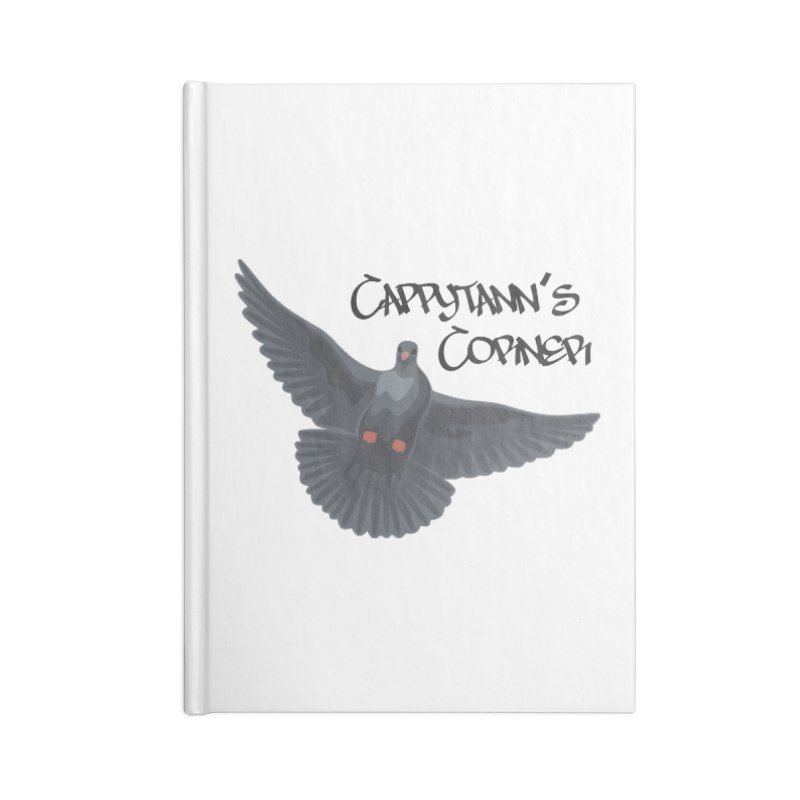 Free Bird Black Accessories Notebook by Cappytann's Artist Shop