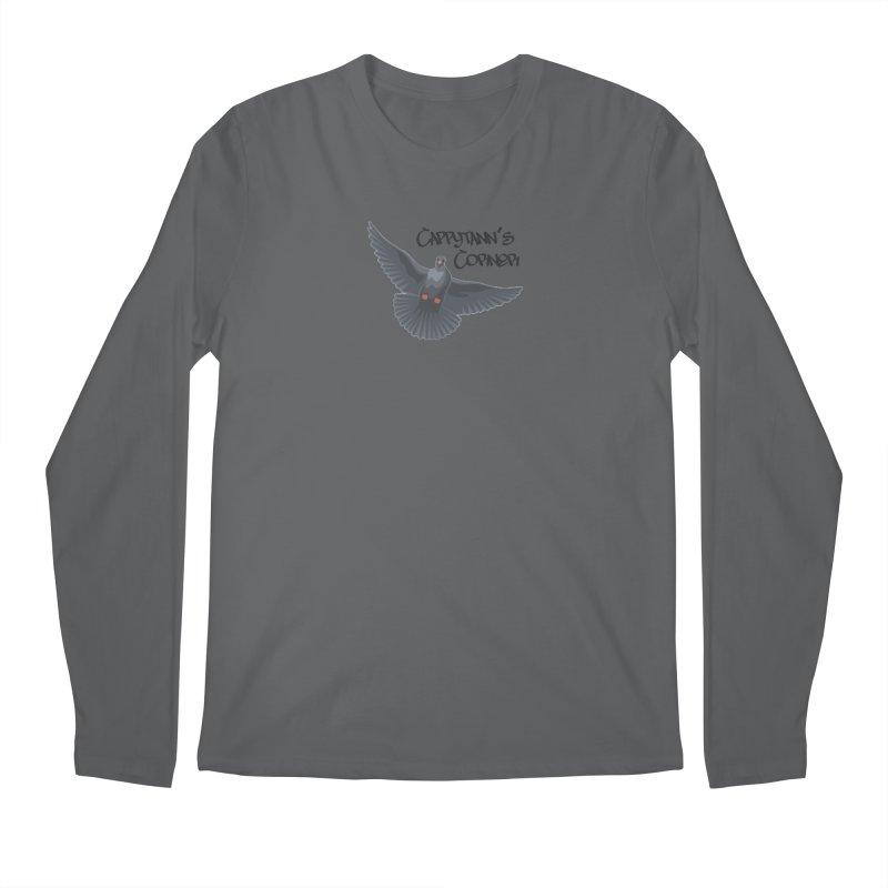 Free Bird Black Men's Longsleeve T-Shirt by Cappytann's Artist Shop