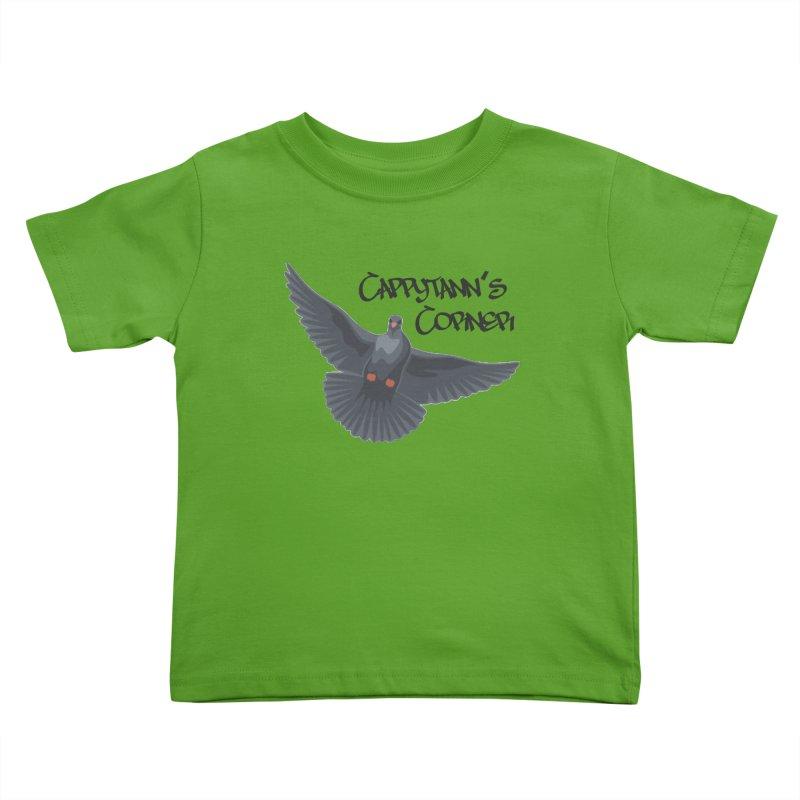 Free Bird Black Kids Toddler T-Shirt by Cappytann's Artist Shop