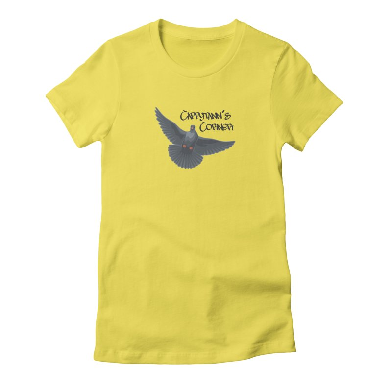 Free Bird Black Women's T-Shirt by Cappytann's Artist Shop
