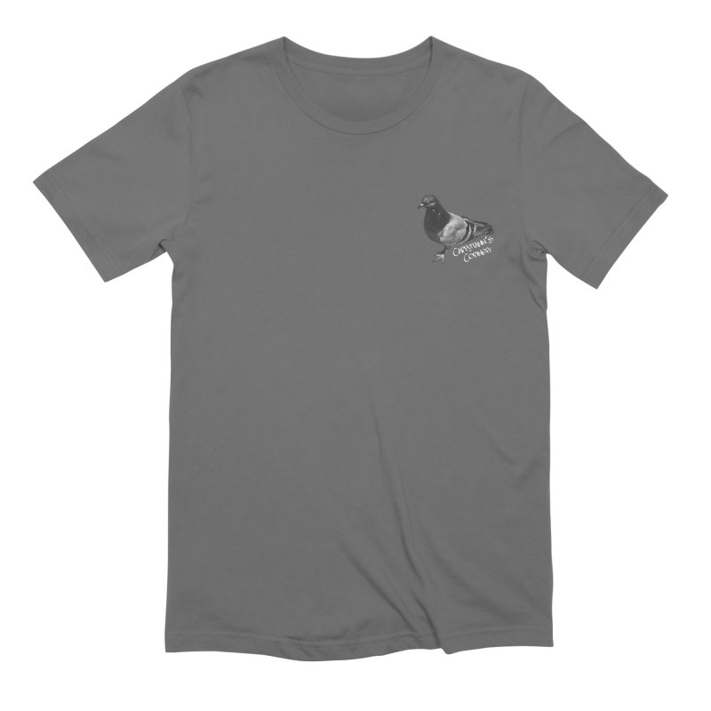 Concrete Pigeon White Men's T-Shirt by Cappytann's Artist Shop