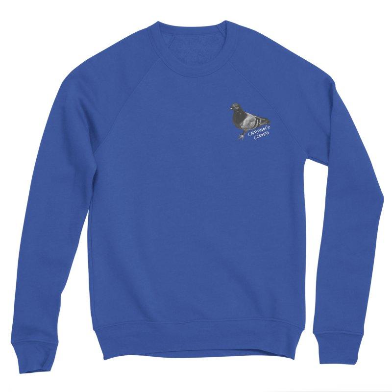 Concrete Pigeon White Women's Sweatshirt by Cappytann's Artist Shop