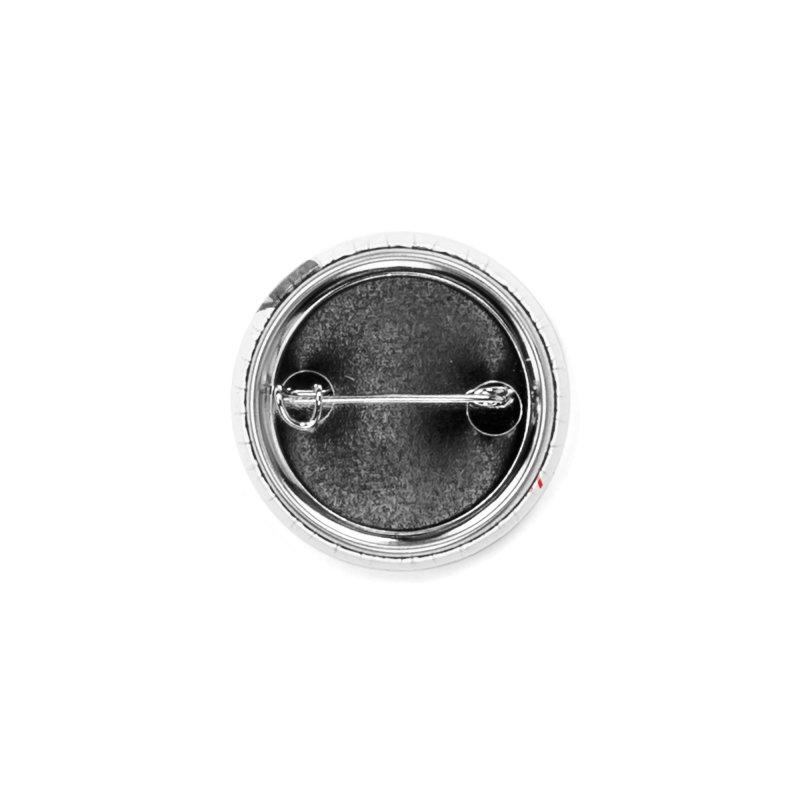 Concrete Pigeon Red Accessories Button by Cappytann's Artist Shop