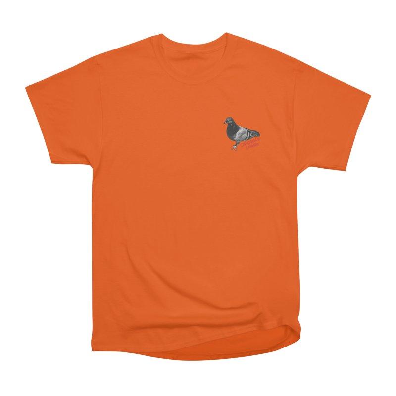 Concrete Pigeon Red Women's T-Shirt by Cappytann's Artist Shop