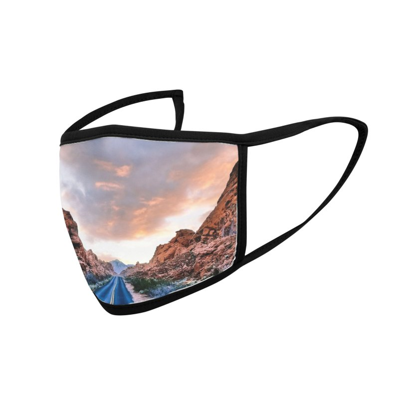 Nevada Mask Accessories Face Mask by Cappytann's Artist Shop