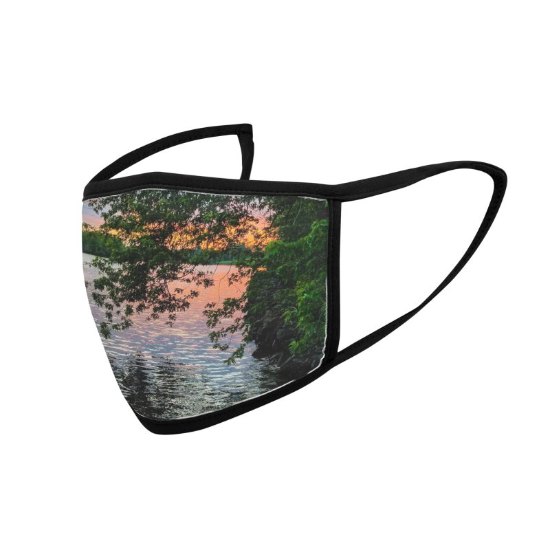 Sunset on Oneida Lake - NY Mask Accessories Face Mask by Cappytann's Artist Shop