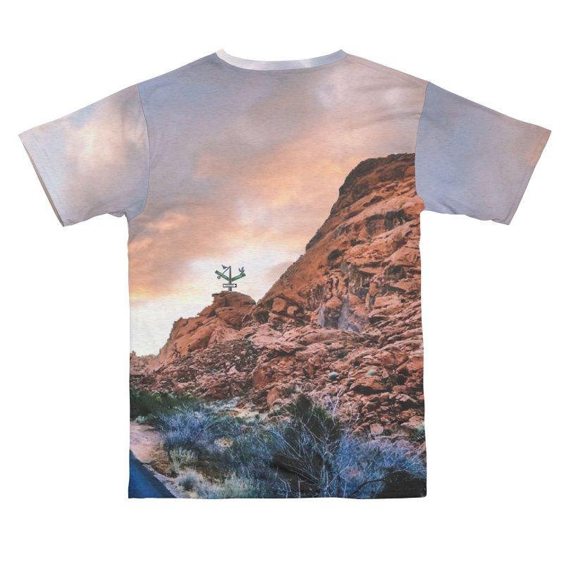 Nevada Sunset Men's Cut & Sew by Cappytann's Artist Shop