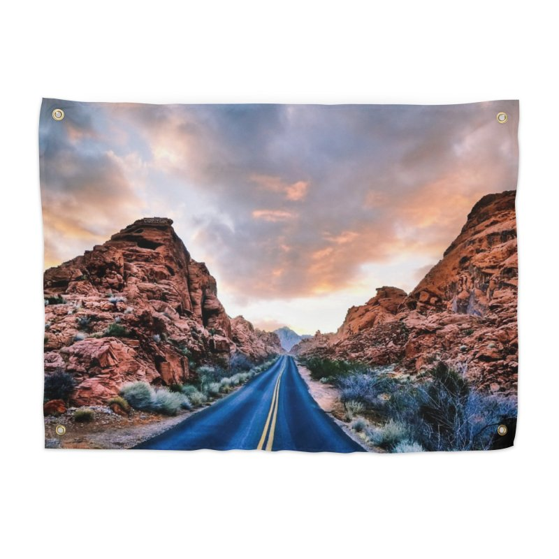 Nevada Sunset Home Tapestry by Cappytann's Artist Shop