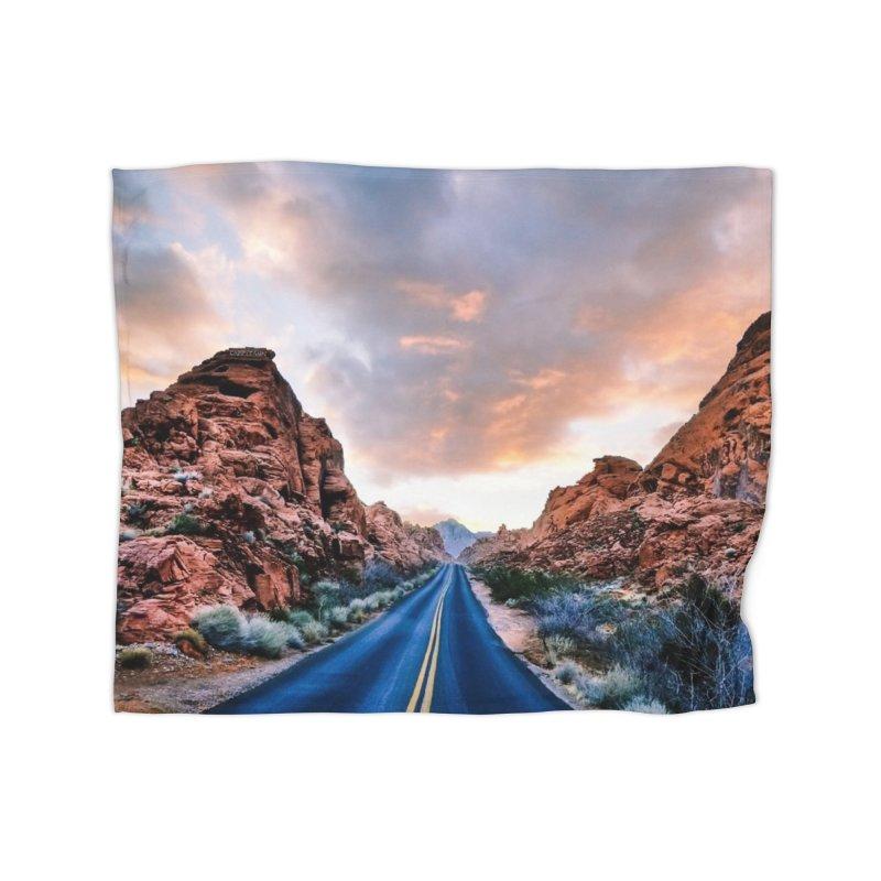 Nevada Sunset Home Blanket by Cappytann's Artist Shop