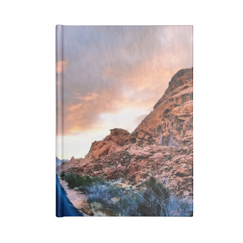 Nevada Sunset Accessories Notebook by Cappytann's Artist Shop