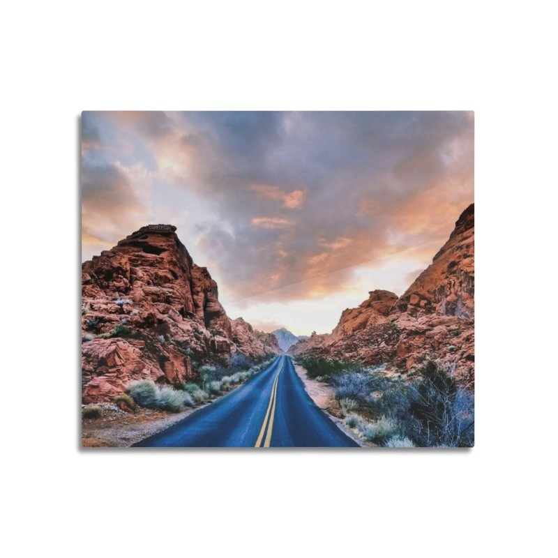 Nevada Sunset Home Mounted Acrylic Print by Cappytann's Artist Shop